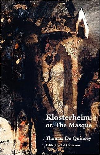 Book Klosterheim; Or, the Masque