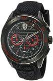 Scuderia Ferrari Men's Quartz Stainless Steel and Silicone Casual...