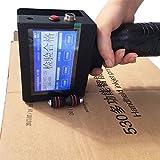 Premium Quality Handheld Intelligent Inkjet Printer Ink Date Coder Coding Machine LED Screen Display for Trademark,Logo,Graphic,Date Coder - English Edition