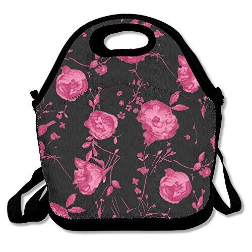 Hibiscus Drawstring Tote Bags - 4