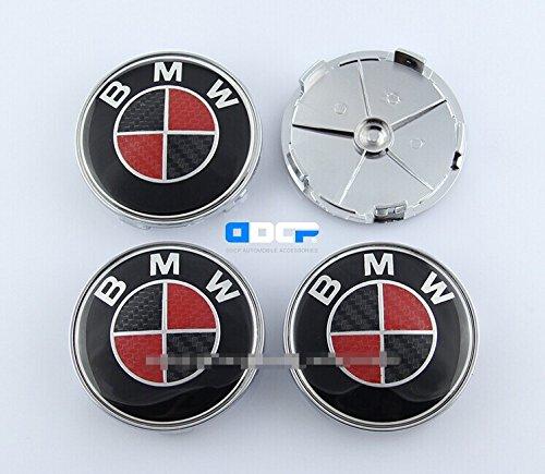 carbon fiber wheel center caps - 5