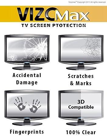 50 pulgadas Vizomax sin brillo TV Protector de pantalla para LCD, LED y Plasma de televisión de alta: Amazon.es: Electrónica