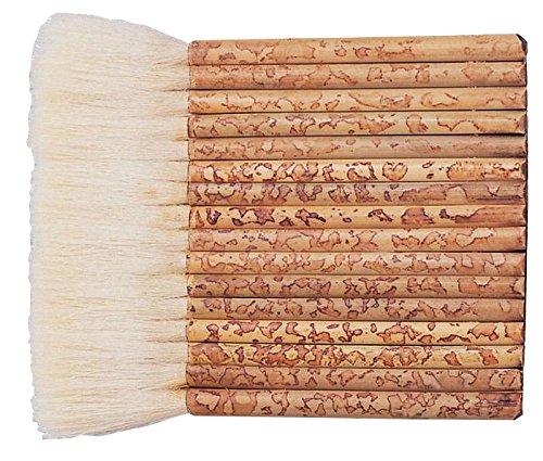 Yasutomo Sheep Hair Short Bamboo Handle Hake Brush, 5-1/2 in Yasutomo Inc