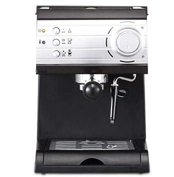 QSM Máquina de Café Máquina de Café Espresso para Uso Doméstico Y Comercial Máquina de Café Instantánea con Espuma de Leche de Vapor Semi-Automática,Negro ...