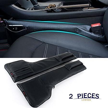Car Seat Gap Filler Pad (2x Black)