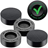 washer vibration - Washer Dryer Antivibration and Anti-Walk Pads - Anti Vibrant Pad set of 4 Washpuck - Excludes Walking Feet Reduces Vibration as Washing Machine Mat Pan Tray Stand Stabilizer Pedestal by Green-World