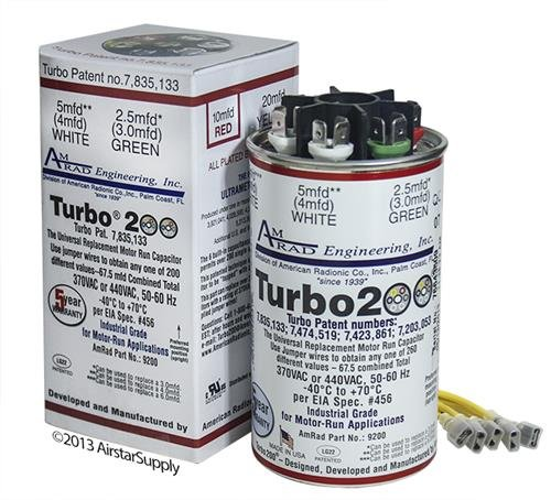 Motor Run - Turbo 200 Motor RUN Capacitor