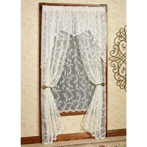 - Curtain Chic, Inc. Cottage Garden Tailored Lace Panel
