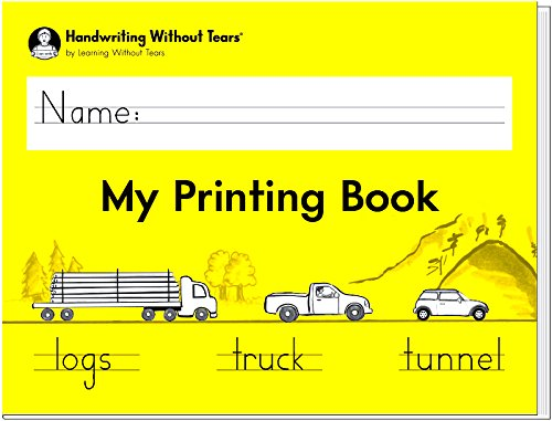 Handwriting Without Tears My Printing Book - Grade 1 - 2018 Edition