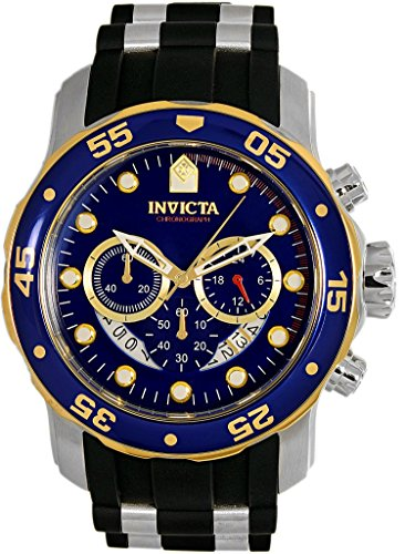 Invicta Quartz Stainless Silicone Casual product image