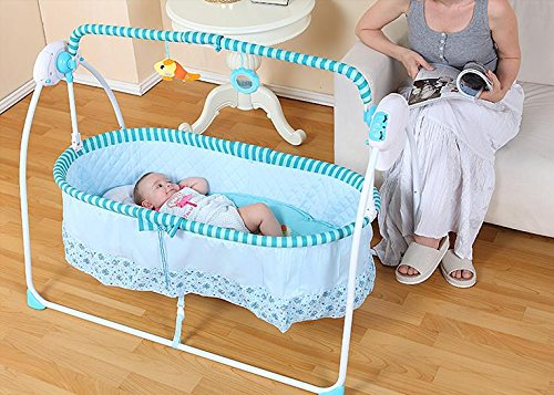 automatic baby cradle Electric Baby Intelligent swing bed rocking chair Nersery bassinets