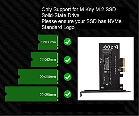liteon T10 SSD PCIe NVMe Adapter 960EVO Support M.2 PCIe 2280 SSD to PCIe 3.0 x4 Adapter 2260 2242 Samsung PM961 AHCI NVMe Intel 600P M.2 NVMe to PCIe Adapter NVMe M-Key SM961 PM951,sm951