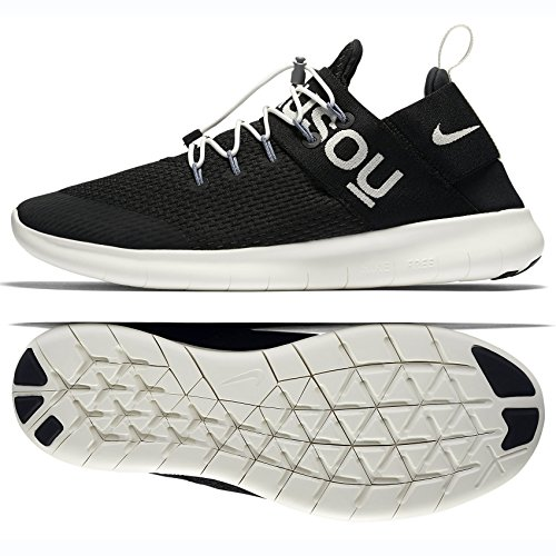 Nike Free Rn Pendolari 2017 X Sotto Copertura Gyakusou 904732-001 Nero / Vela Scarpe Da Uomo