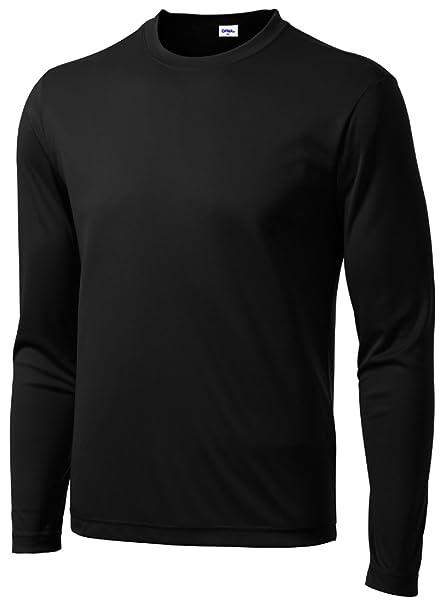 763e8a91eb0 Opna Men's Long Sleeve Moisture Wicking Athletic Shirts at Amazon ...