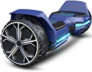 Gyroor Hoverboard Offroad All Terrain Flash Wheel Self Balancing G5 Hoverboards with Bluetooth Speaker, UL 227