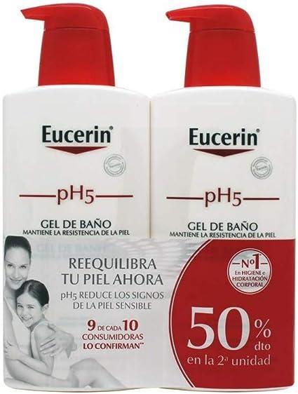Eucerin Family Pack Ph5, Pack de Gel De Baño 1000 ml y Gel De Baño ...