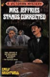Mrs. Jeffries Stands Corrected, Emily Brightwell, 0425155803