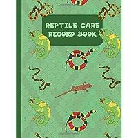 Reptile Care Record Book (Pet Care Journals)