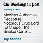 Mexican Authorities Recapture Notorious Drug Lord 'El Chapo,' the Sinaloa Cartel Kingpin | Joshua Partlow,Elahe Izadi