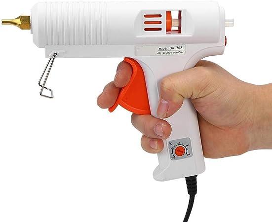 EU DIY 110 Watt Professionelle Einstellbare Konstante Temperatur Heizung Hei/ßklebepistole Handwerk Repair Tool Jacksking Klebepistole