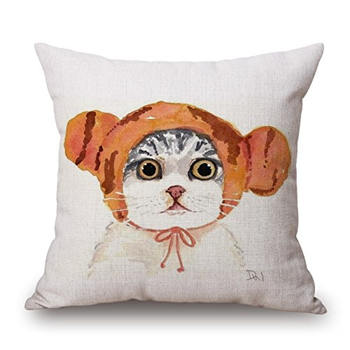 Uloveme The Cat Pillow Cases Of ,20 X 20 Inches / 50 By 50 Cm Decoration,gift For Adults,home Theater,couch,bench,teens Boys,son (2 Sides) (Outdoor Wicker Cheap Setting)