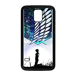 samsung galaxy s5 Case , Attack on Titan flag samsung galaxy s5 Cell phone case Black - HHDD7758277