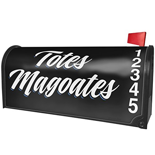 NEONBLOND Classic Design Totes Magoates Magnetic Mailbox Cover Custom Numbers