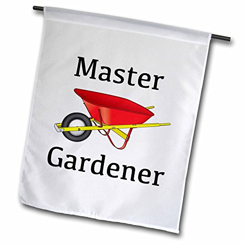 EvaDane – Funny Quotes – Master Gardener – 18 x 27 inch Garden Flag (fl_123089_2) For Sale