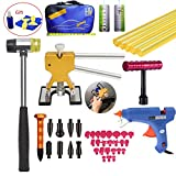 VTOLO Paintless Hail Repair PDR Dent Lifter Puller Ding Removal Tools Bag Kits
