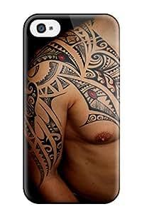 New Arrival Tattoo Art VfMUqgR9908aLgSg Case Cover/ 4/4s Iphone Case