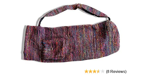 Taraluna Recycled Silk Yoga Mat Bag
