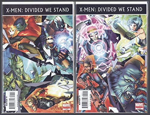 X-Men Divided We Stand #1-2 Near Mint Complete Set Full Run Marvel Comics CBX1X
