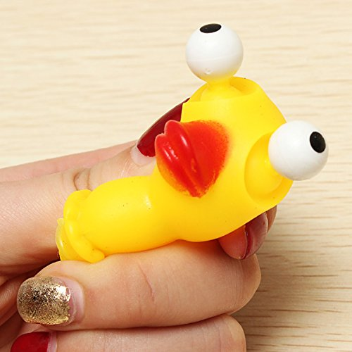 Squeeze Spoof Toy Stress Reliever Toy With Key Chain - 3