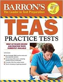 Barron's TEAS Practice Tests: 9781438003931: Medicine & Health ...