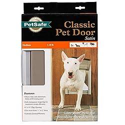 Petsafe Premium Classic Pet Door, Medium, Satin