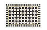MacKenzie-Childs Courtly Check Floor Mat 2' x 3'