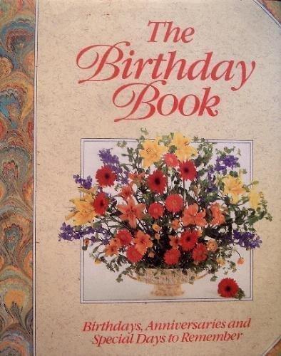 Birthday Book Birthdays Anniversaries Remember product image