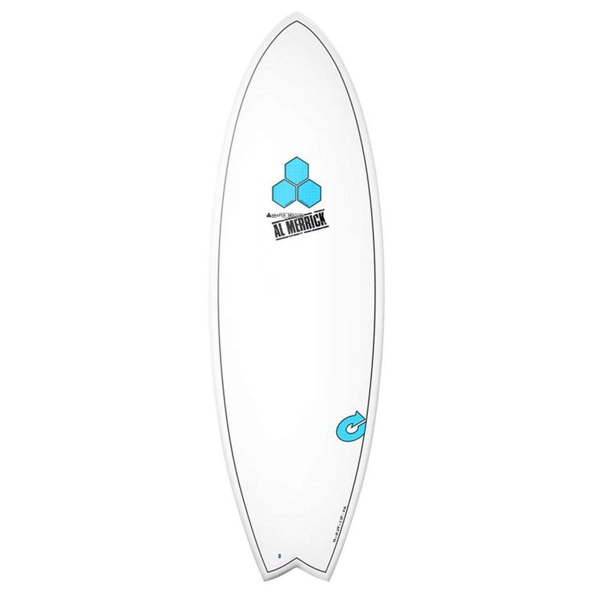 Tabla de surf Channel Islands X-Lite Pod MOD 6.6 Blanco AL MERRICK Fish Eps EPOXY: Amazon.es: Deportes y aire libre