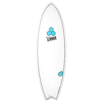Tabla de surf Channel Islands X-Lite Pod MOD 6.6 Blanco AL MERRICK Fish Eps