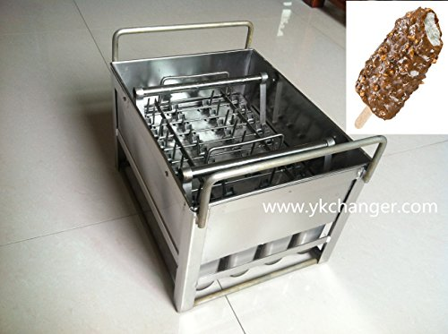 Commercial Stainless Steel Popsicle Mold/ Ice Pop Mold Ice Cream Mold 90ml Hight Quality Food Class by Ykchanger