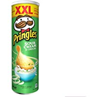 Pringles Sour Cream & Original Flavored Chips 200gm Can
