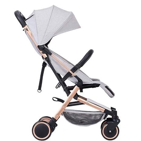 LLX Cochecito De Bebé Portátil Puede Estar En El Avión En Un Carro De Bebé Plegable
