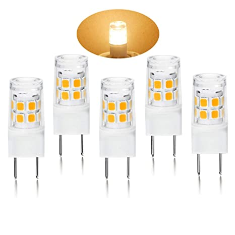 G8 LED Light Bulb 2.5 Watts Warm White   G8 Base Bi Pin Xenon JCD Type LED  120V 20W Halogen Replacement Bulb For Under Counter ...