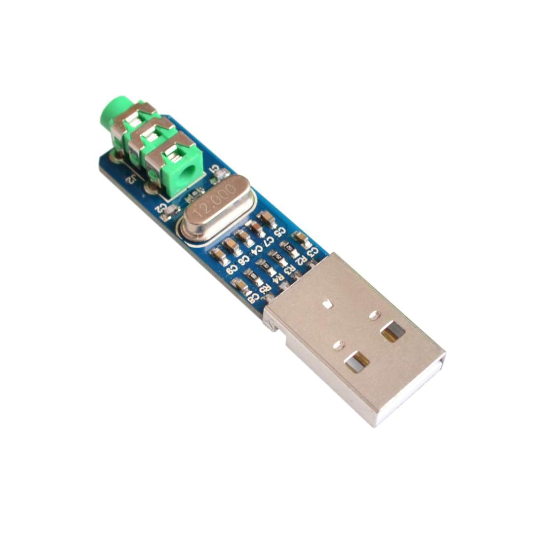 HiLetgo 5V PCM2704 Sound Card Decoding Module DAC Decoder Board for PC Computer USB Powered