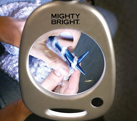 Amazon mighty bright 67112 floor light and magnifier silver amazon mighty bright 67112 floor light and magnifier silver arts crafts sewing aloadofball Image collections