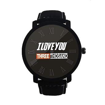 REALDE Reloj De Pulsera Minimalista Te Amo 3000 Numeral Romano ...