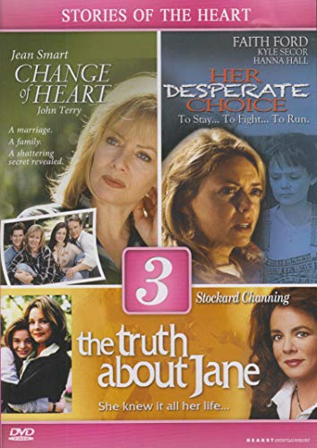 DVD : Lifetime Movies-Triple Feature (A Change of Heart, The Truth About Jane, Her Desperate Choice)