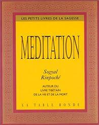 Méditation par Sogyal Rinpoché