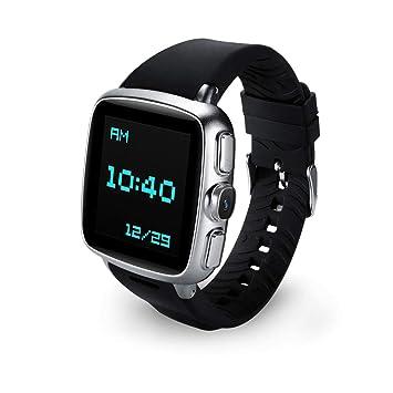 WOOLIY Relojes Inteligentes Bluetooth teléfonos Android/Reloj de Fitness Tracker con Monitor de sueño/podómetro Reloj Compatible con iPhone teléfono ...