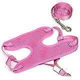 Gaorui Soft Vest Dog Puppy Pet Harness Chest Vest Collar Lead Leash Strap Adjustable